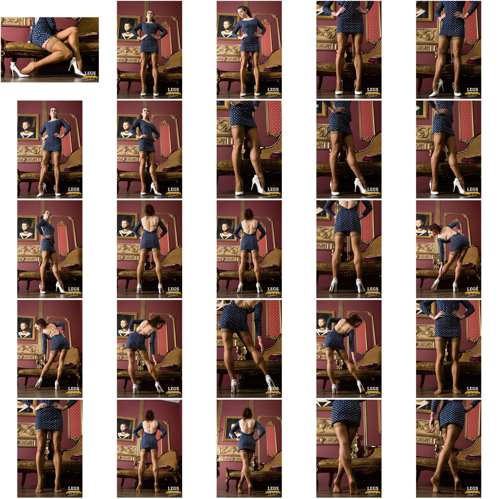 Anastasia - Her Stockings Covered Ballerina Legs 3.jpg