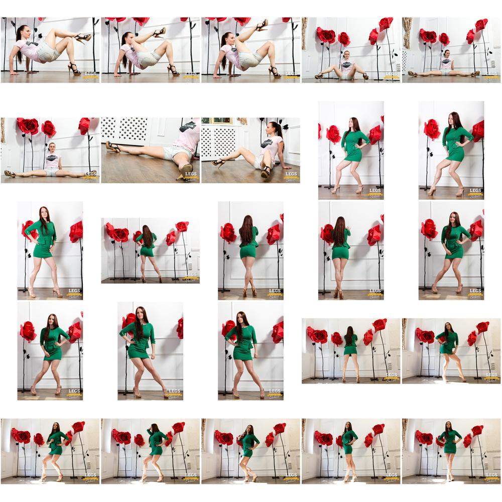 Alisa - Tight Green Legs Dress 2.jpg