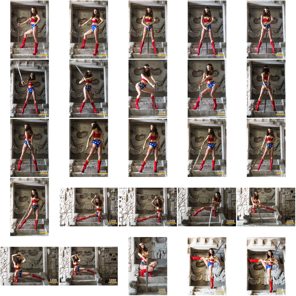 Elena - Wonder Woman Legs Paradise - 1.jpg