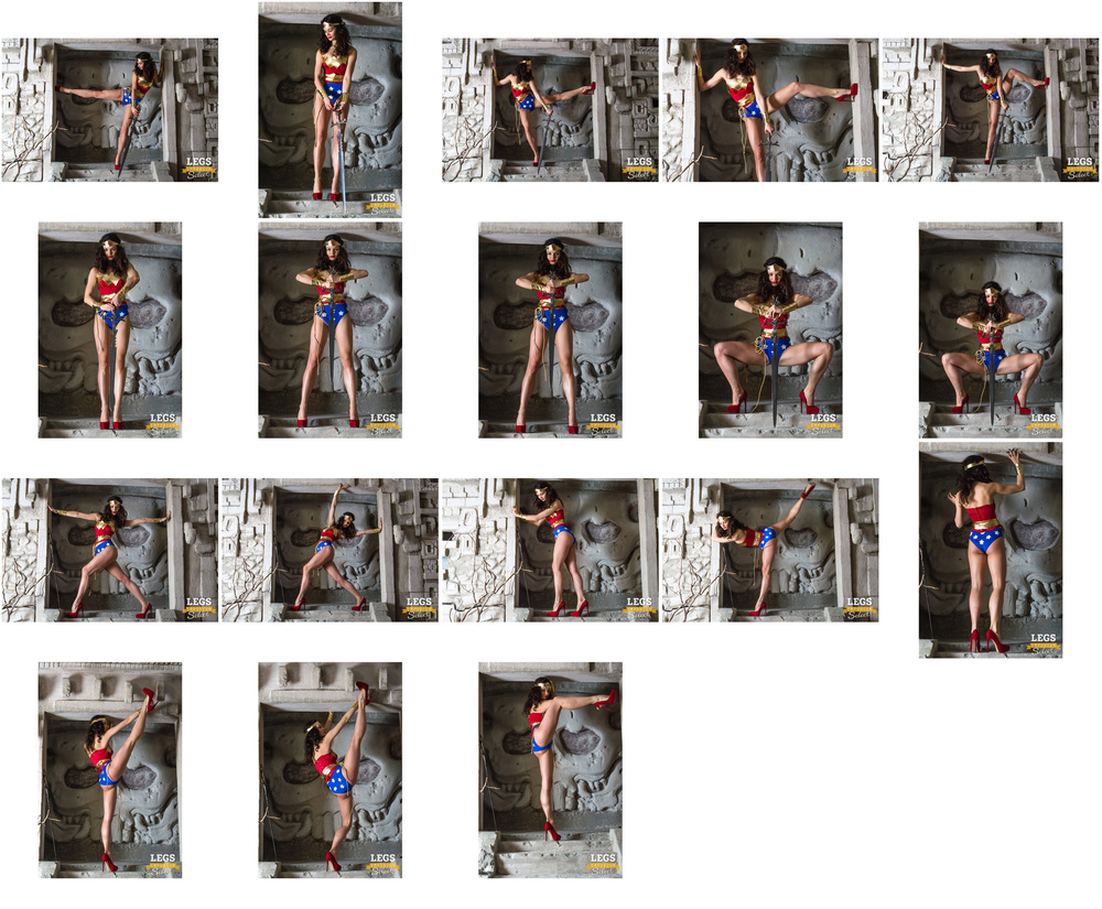 Elena - Wonder Woman Legs Paradise - 3.jpg