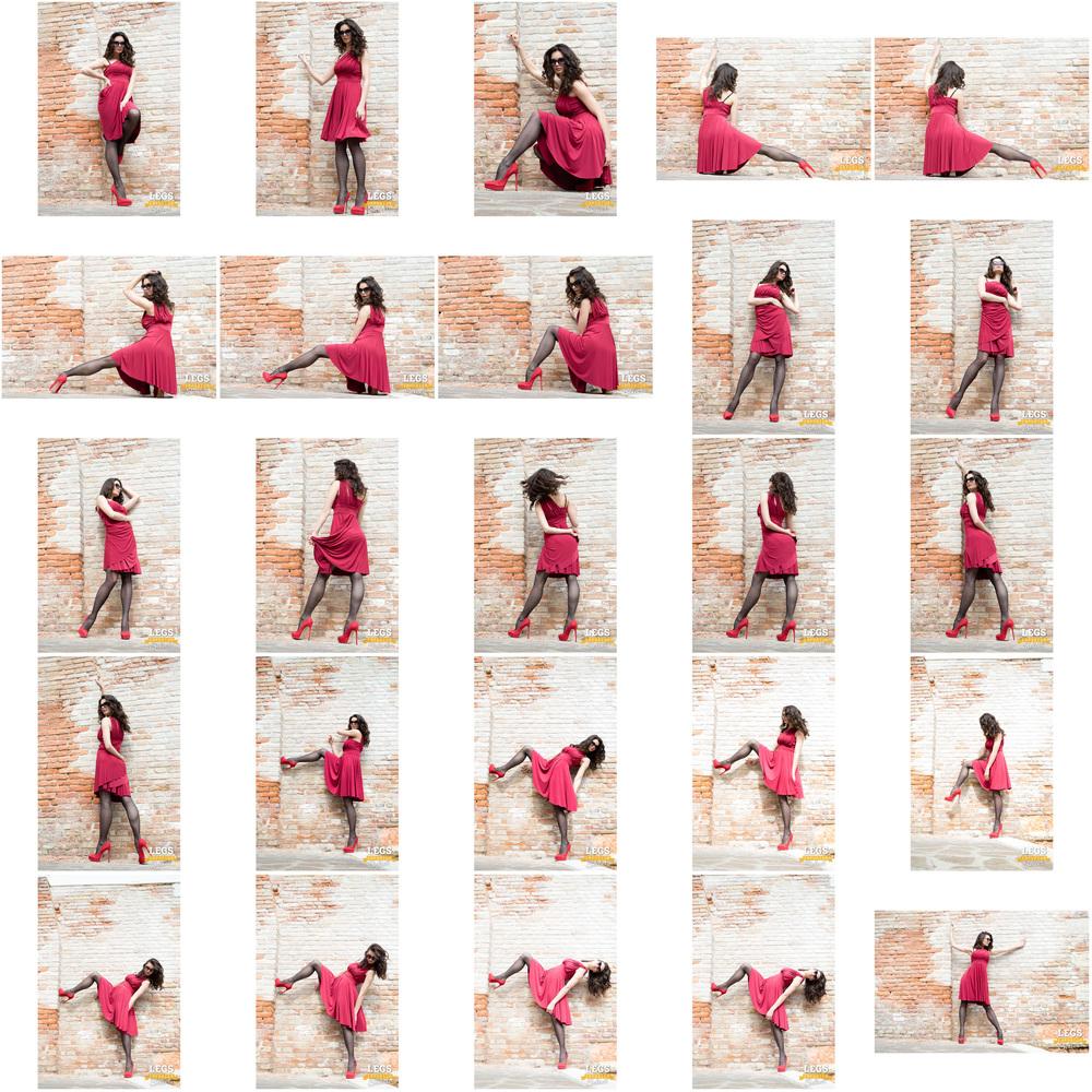 Elena - Red Dress, Black Stockings, Colorful Wall 2.jpg