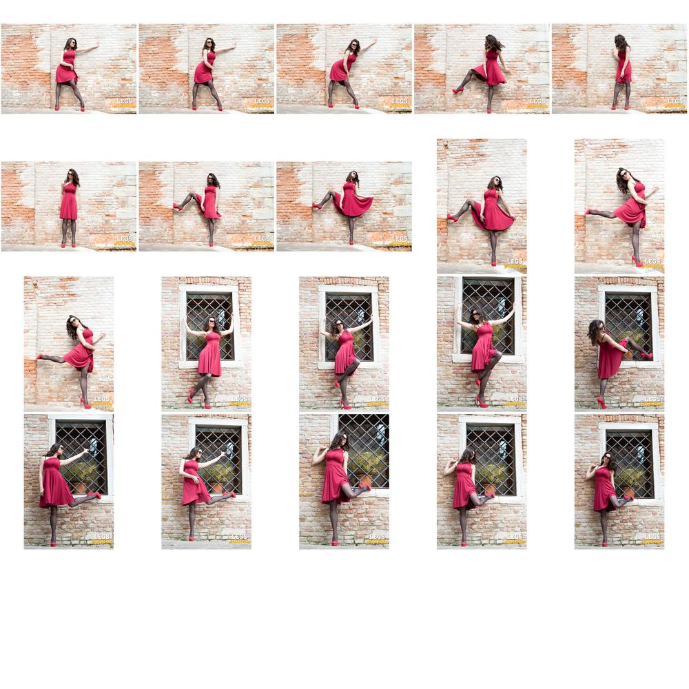 Elena - Red Dress, Black Stockings, Colorful Wall 3.jpg