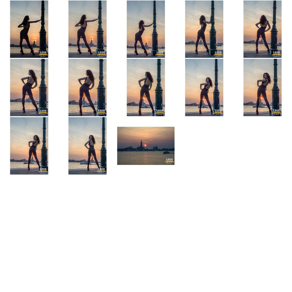Elena - Venice Sunset with the Legs Goddess 2.jpg