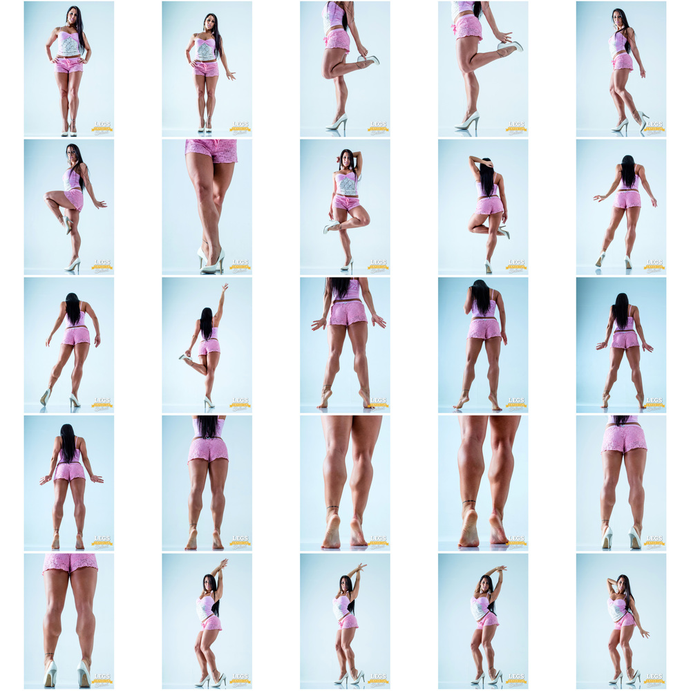 Nikolett - Pink Shorts and Phat Calves 1.jpg