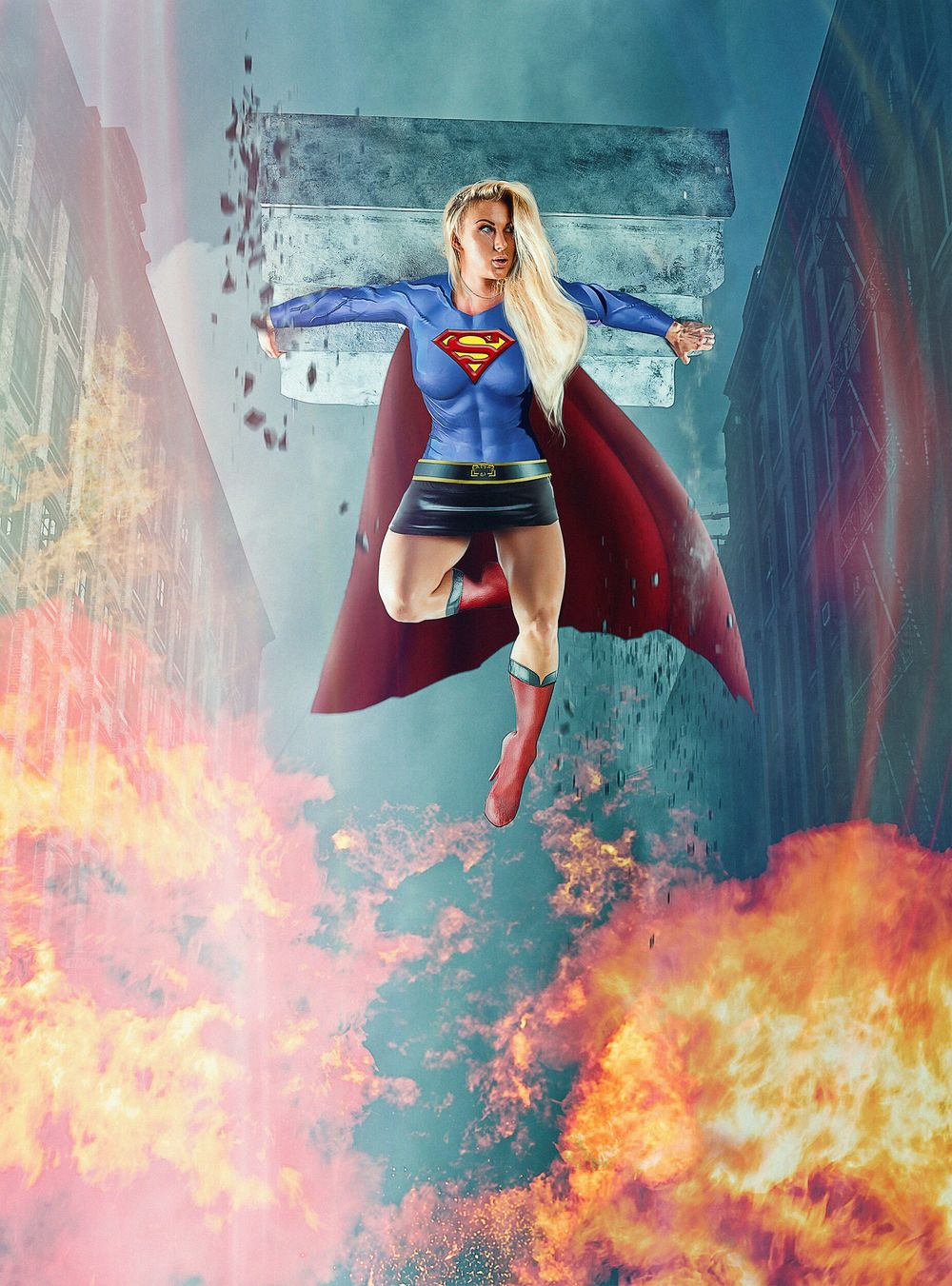Legs_Art_Roxie_as_Supergirl