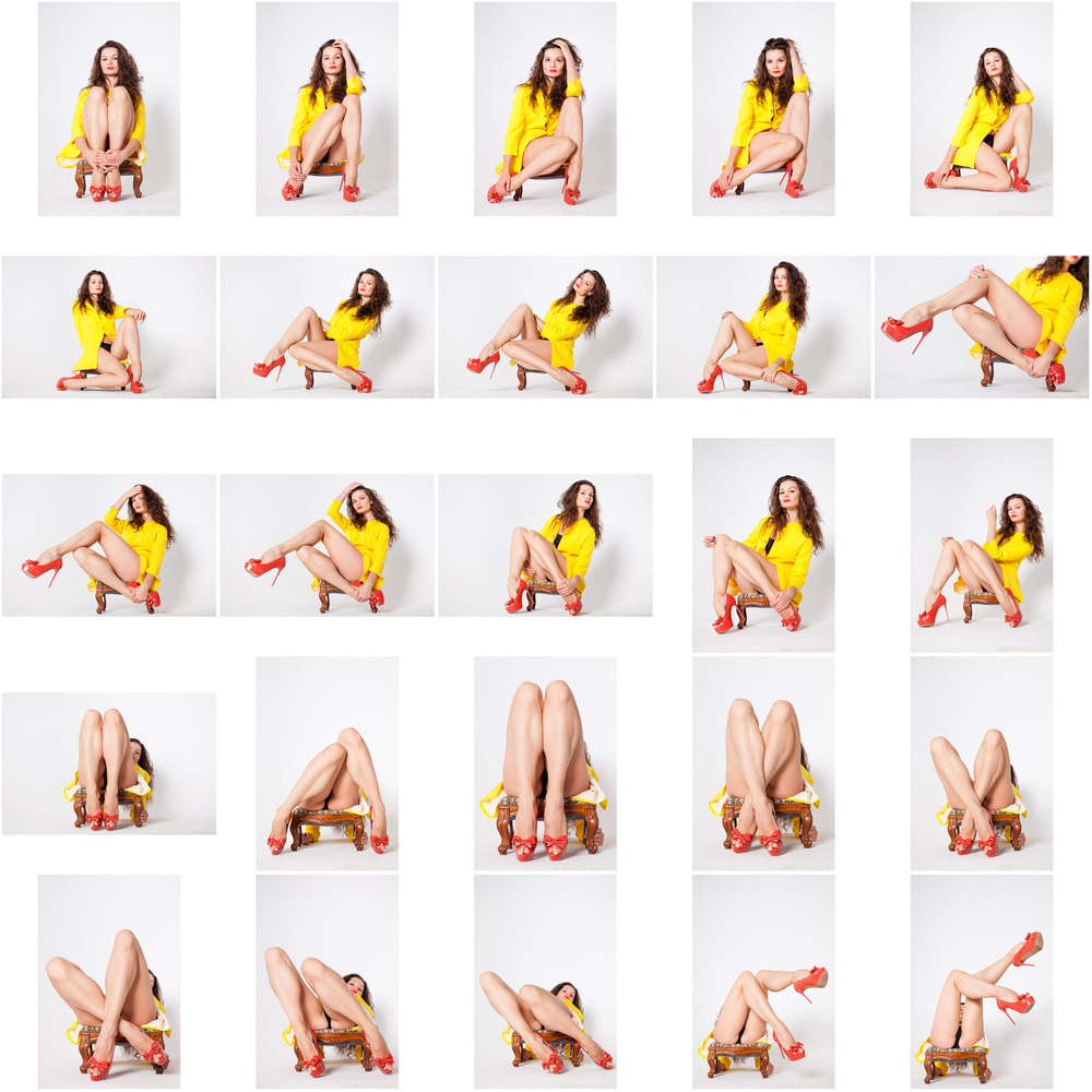 Elena - Shapely Legs In Yellow 1.jpg