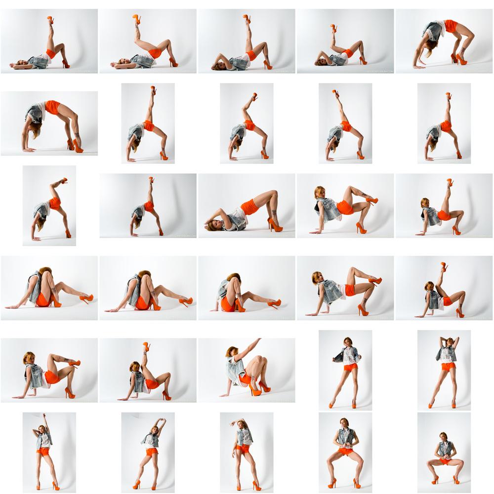 Kaylee - Great Legs in Orange and Flexibility 1.jpg