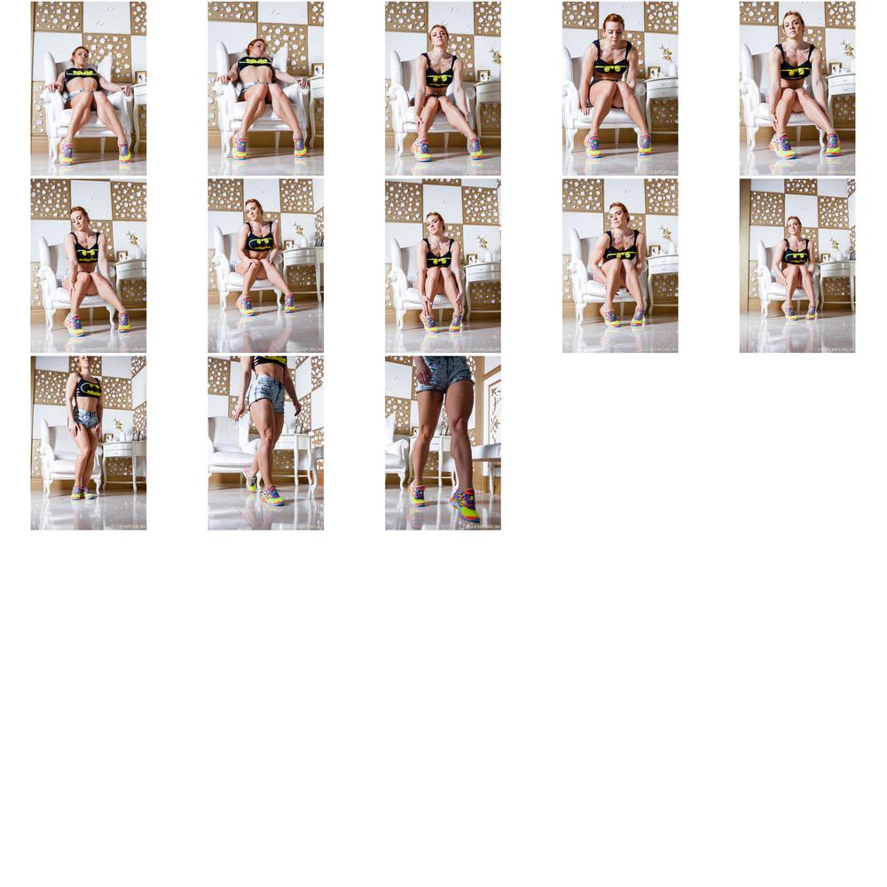 Alena Chumakova - Hamstring Booty in Denim Shorts 3.jpg