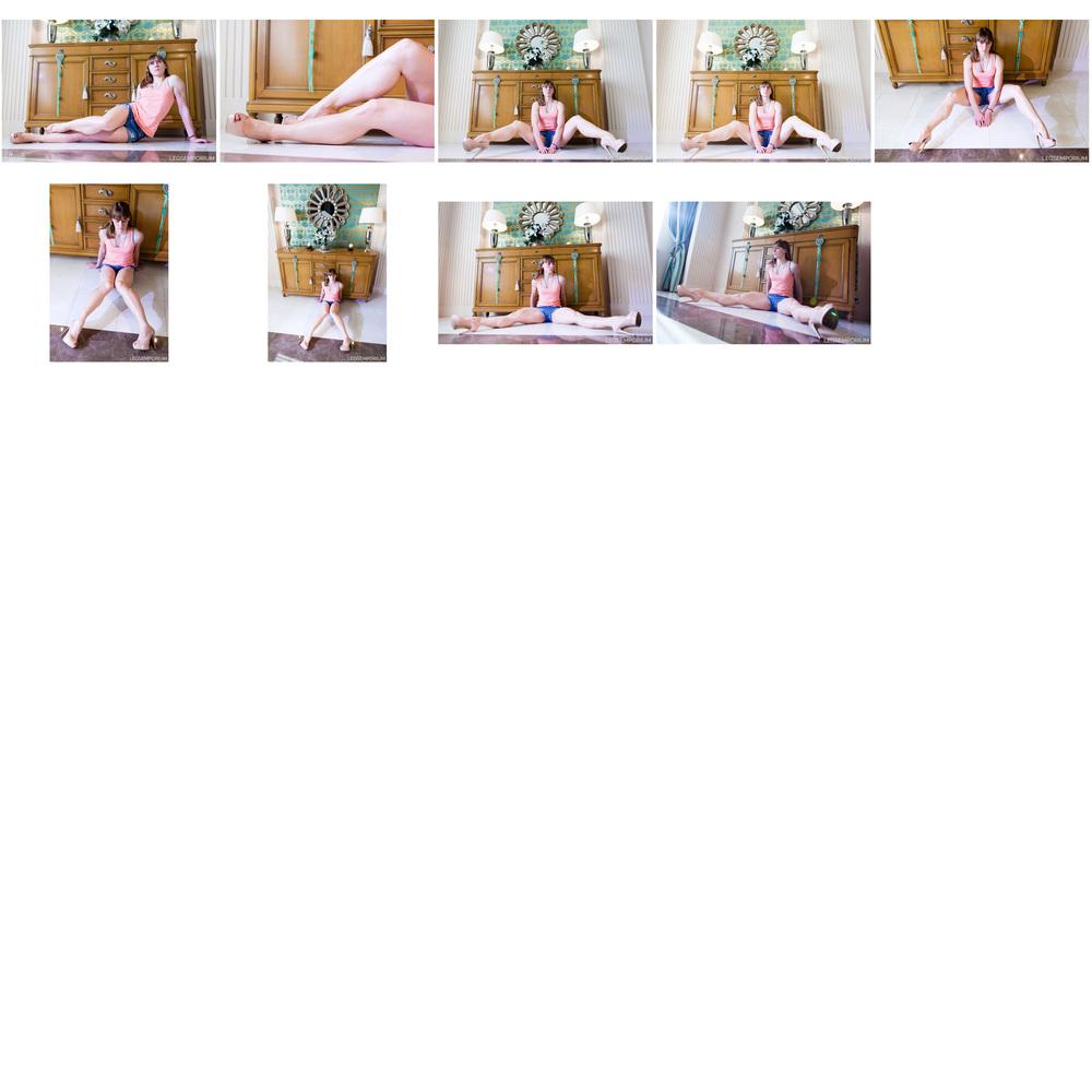 Maria - Denim Shorts and Leg Muscles 6.jpg