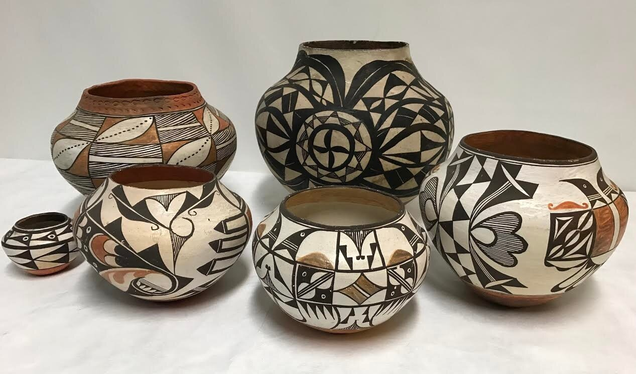 treasures from the basement the pottery of acoma pueblo