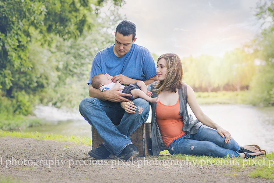 3 months old... South East MI Family Photographer