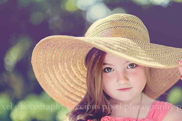 Toledo Botanical Garden Photo shoot, child photography