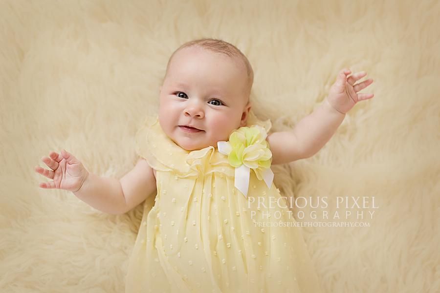 Precious Pixel Photography, photographer monroe Michigan, newbon photo, 3 months 04.jpg