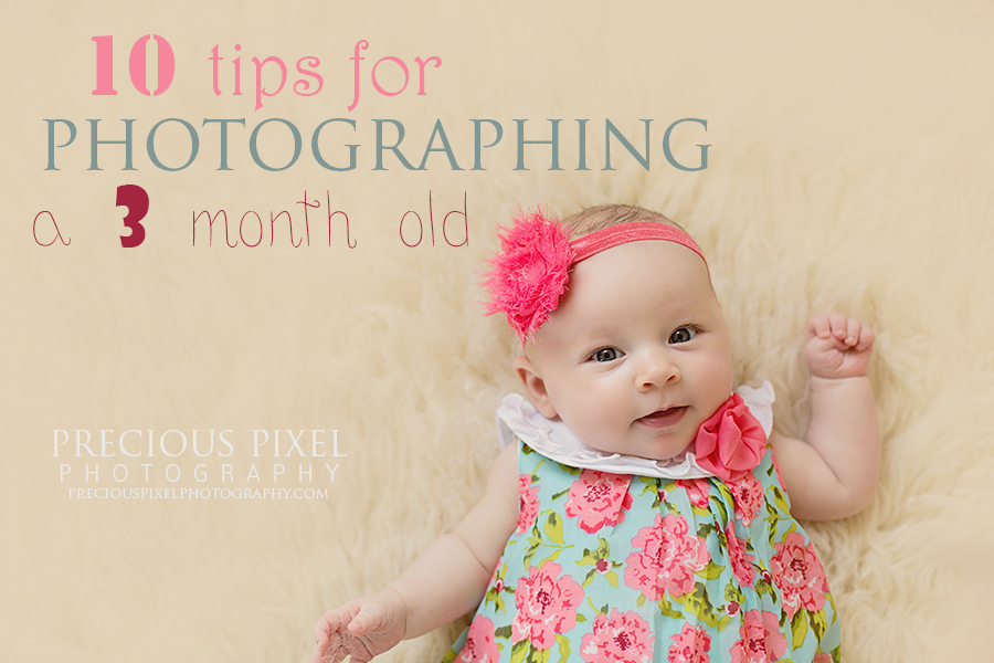 3 month old photography