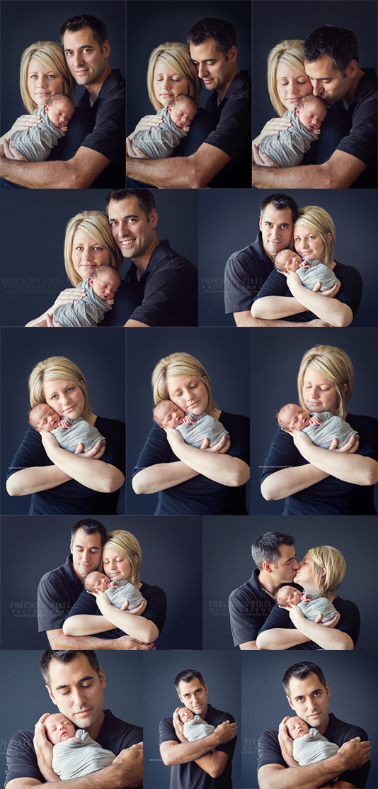 Detroit MI Newborn photographer, baby photo, family photography, baby with parents, precious pixel photography,