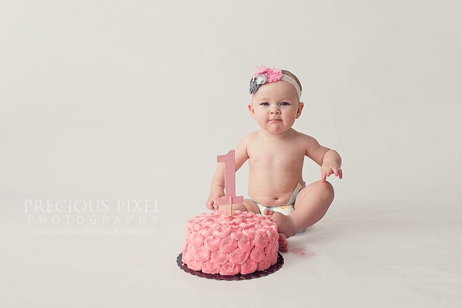Precious Pixel Photography, Detroit Michigan photographer, baby pictures, Smash Cake, family photographer mi,  Rose Jesky, photography,baby, portrait studio, Down River, 1
