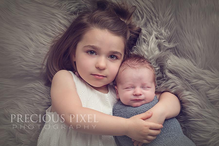 Newborn Photography, Photographer, Detroit MI, baby photos, newborn pictures, sibling photo shoot, Precious Pixel Photography, Rose Jesky