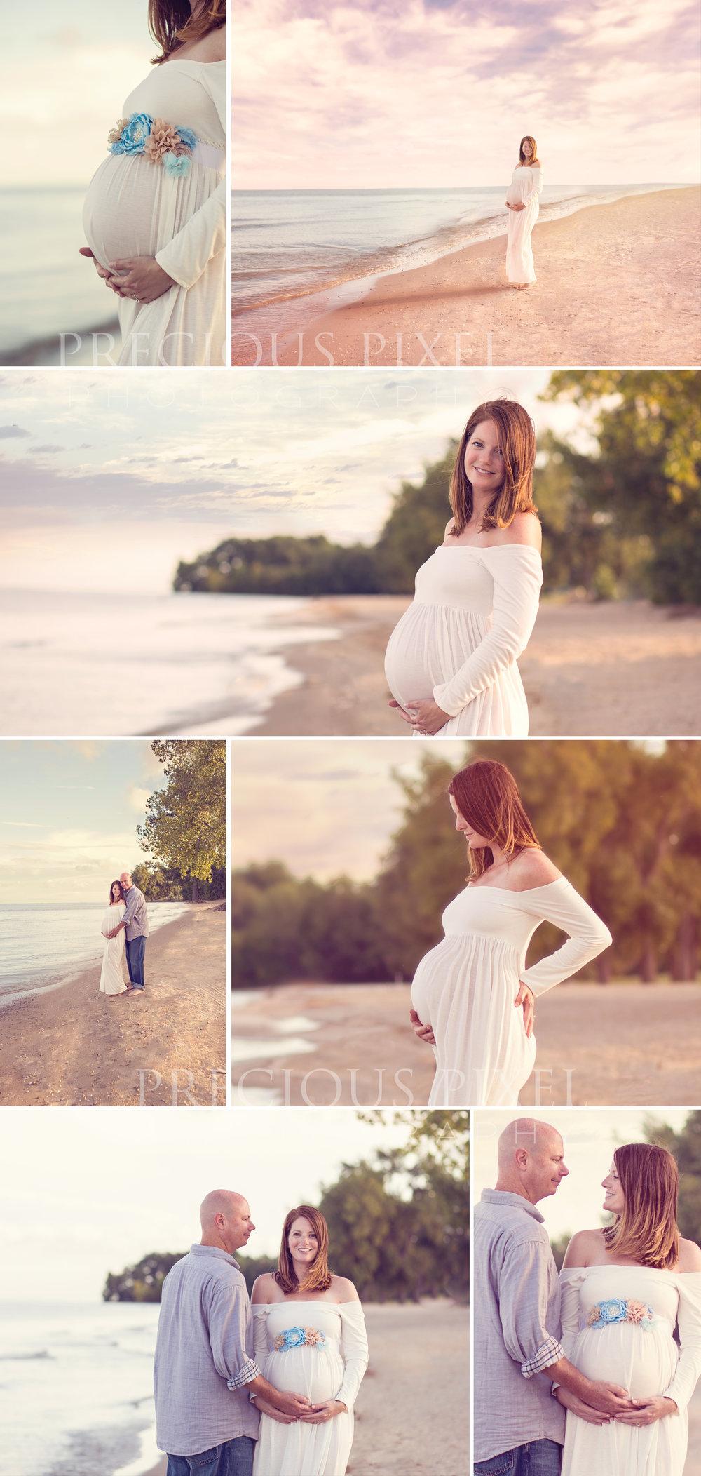 Maternity Photography, Beach maternity pictures, Fall, Precious Pixel Photography, Southeast MI maternity photographer, Newborn, baby bump pics,