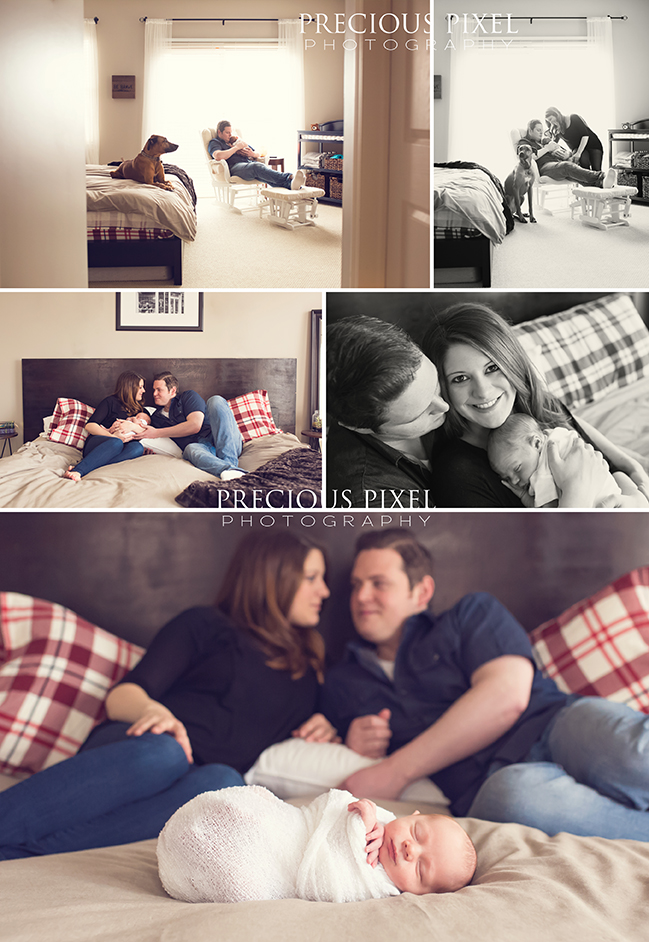 Newborn Photographer, Southeast MI, birmingham newborn photography, Precious Pixel Photography, natural baby photo,