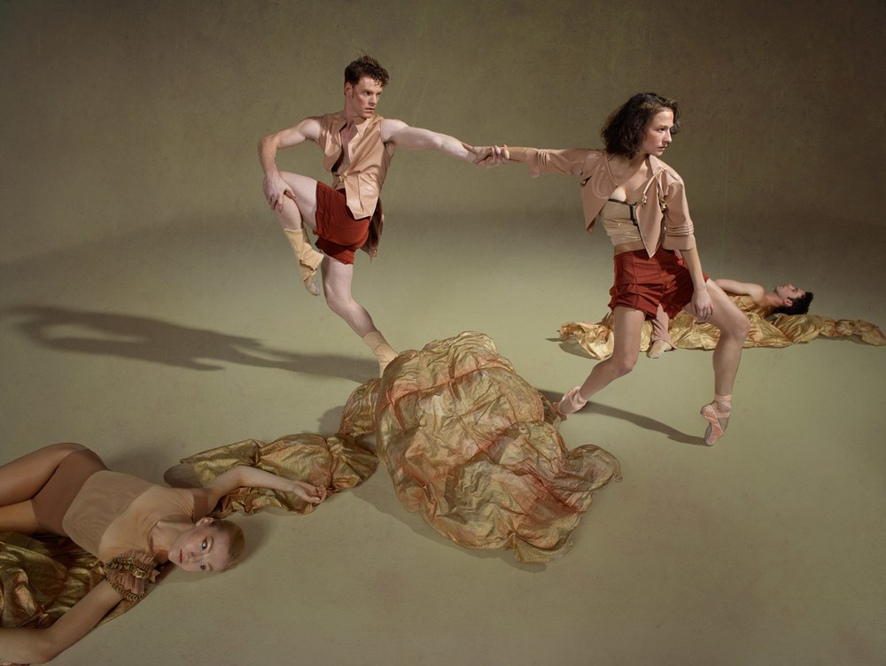 David DeSilva Photography.  Weston Krukow & Terez Dean (Erica Felsh & Ben Needham-Wood), Smuin Ballet.
