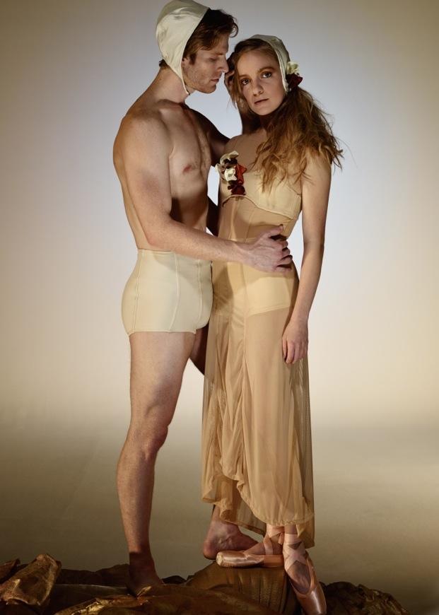 David DeSilva Photography. Josh Reynolds, Smuin Ballet. Sasha De Sola, San Francisco Ballet.