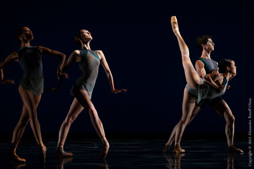 San Francisco Ballet School Trainees, Myles Thatcher's 'Stone & Steel'.  March-May, 2013.