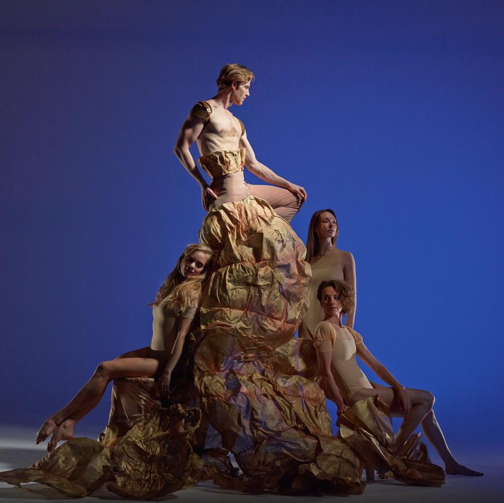 David DeSilva Photography. Josh Reynolds, Smuin Ballet. (Sasha De Sola, Rachel Furst, Katherine Wells).