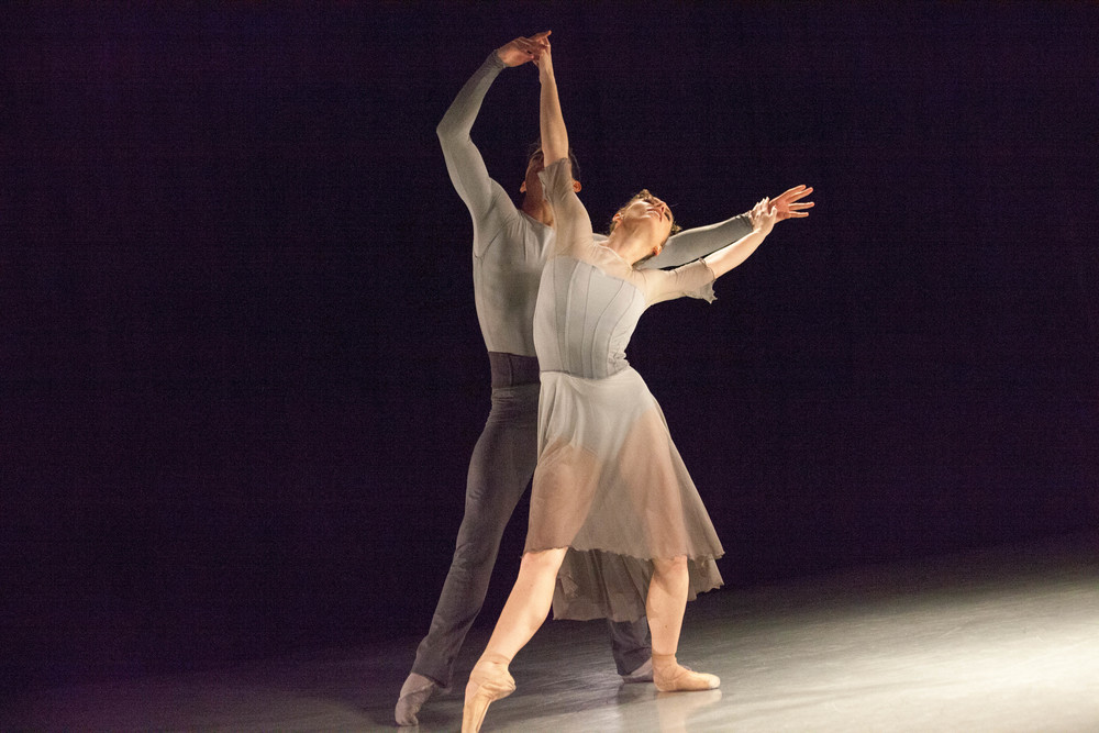 "Melinda Darlington-Bach's ""The Secret Woman"", 2015.  Dancers: Alexsandra Meijer, Ryan Seitheach McMahon.  Photo: Lorelei Ghanizadeh."