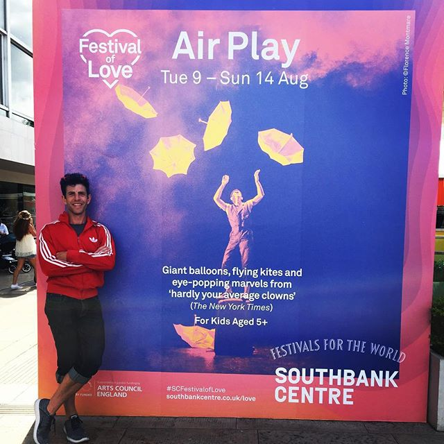 Ready to fly. Royal Festival Hall at Southbank Centre.
