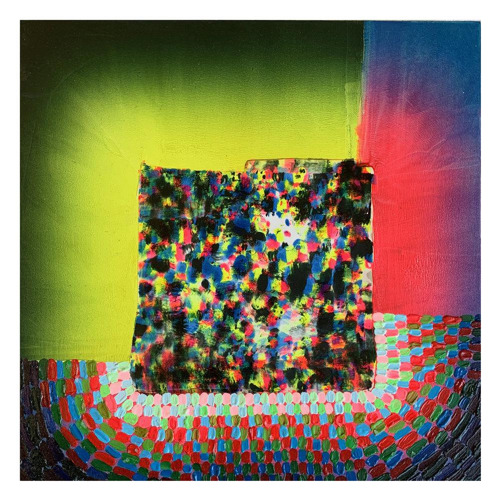 "CMYK BLANKET (2), 12""x12"", 2011"