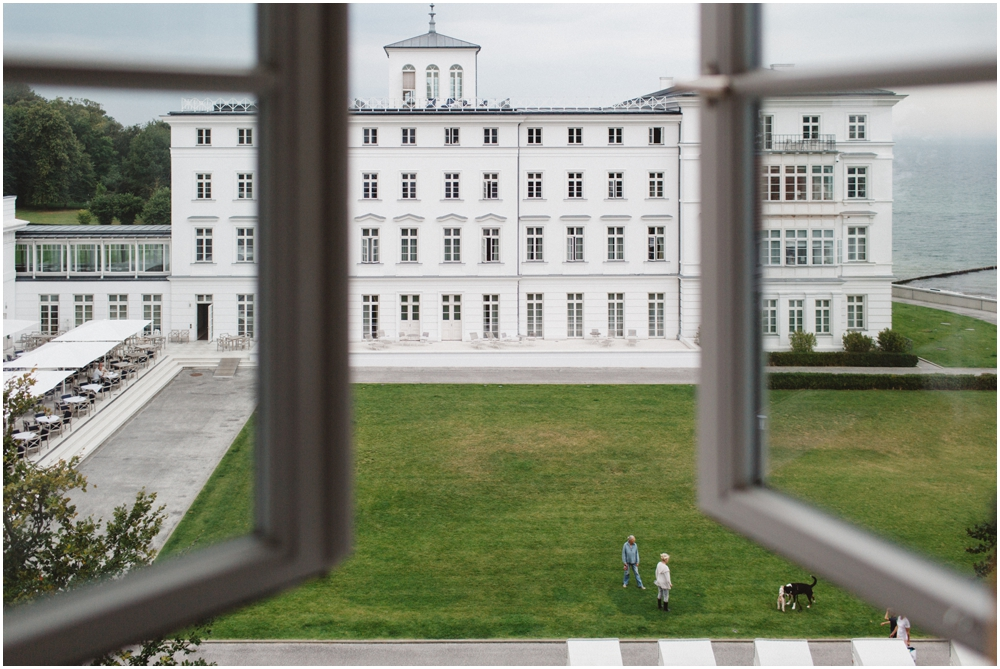 Ausblick auf das Schloss