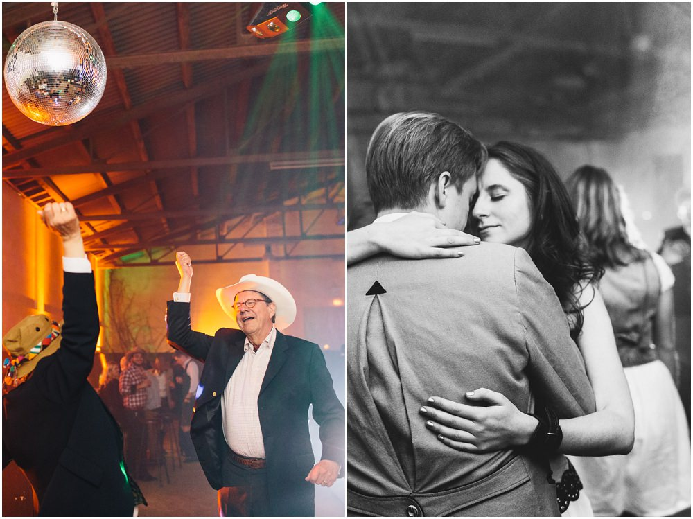 Hochzeitsgäste beim Tanzen