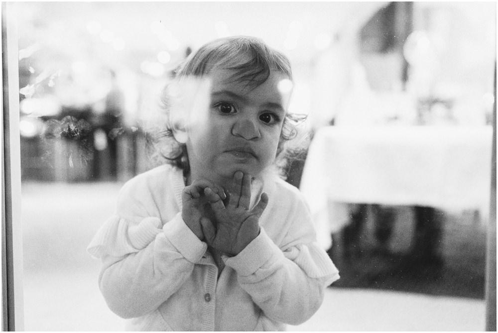 Neugierige Kinderaugen