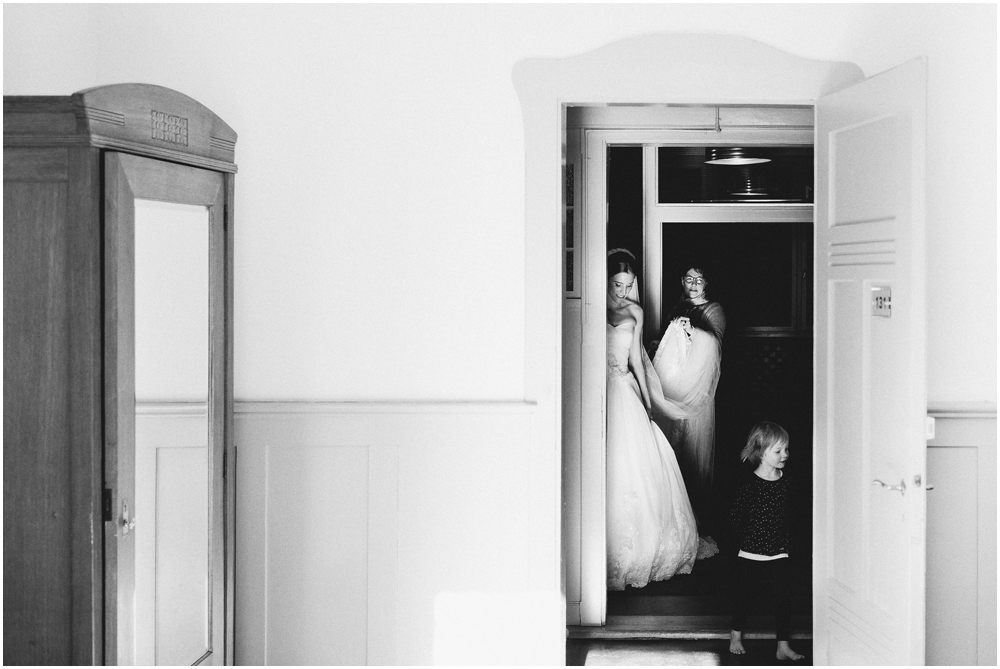 Hochzeitsmorgen