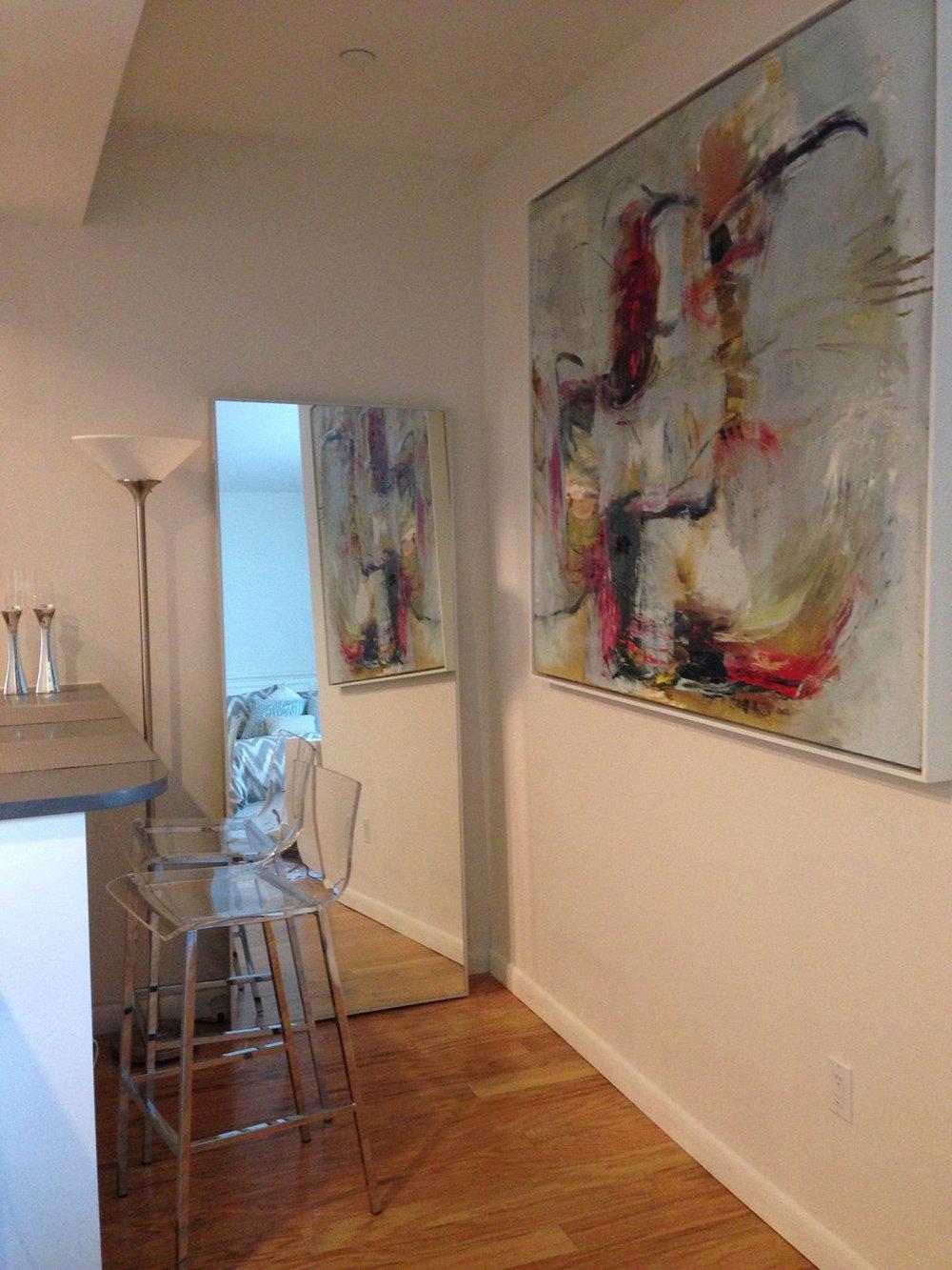 Machination, residential setting, Manhattan