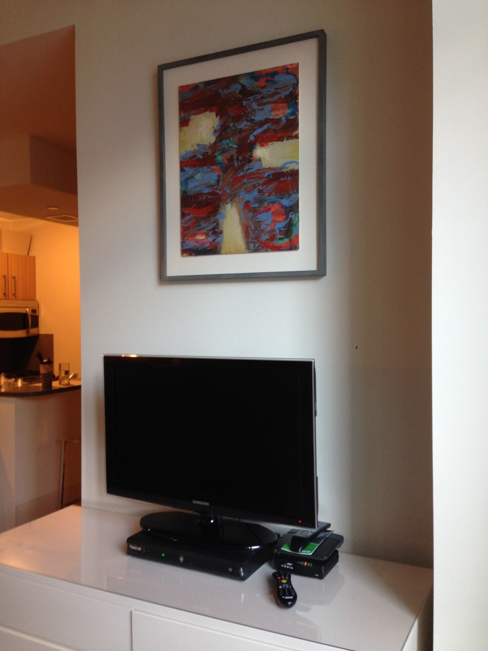 Small Painting 2-C, residential installation