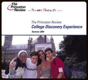 Brochure advertising a summer enrichment program for an educational company.