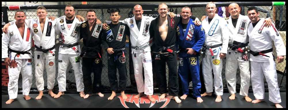 - Triton Black Belts from 2017 December Seminar