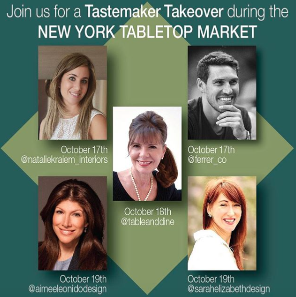 SE Design was chosen as one of the designers to instagram for 41 Madison #tastemakerstakeover
