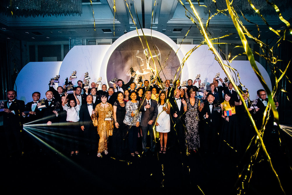 Winners of the Asia Corporate Excellence & Sustainability Awards 2016 in Singapore