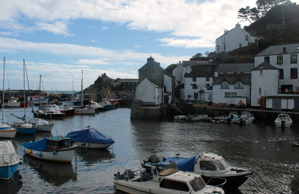 The Blue Peter Inn, Polperro Harbour