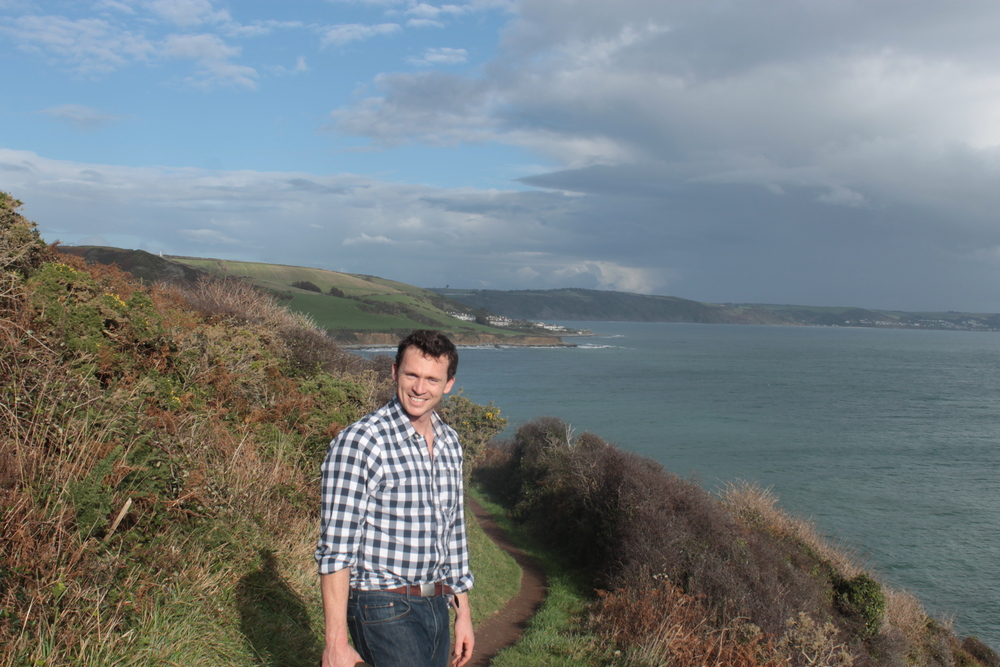The South West Coast Path (and husband!)