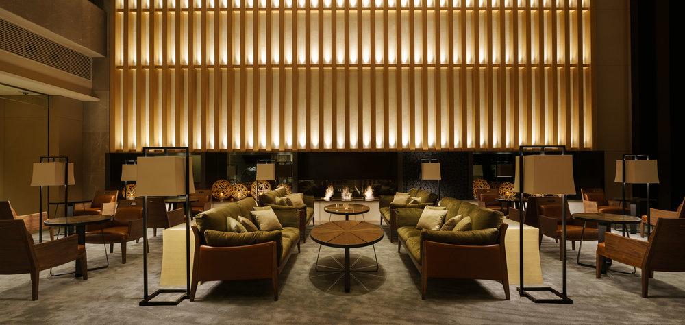Brasserie Restaurant & Lounge in Four Seasons Kyoto / Kokaistudios