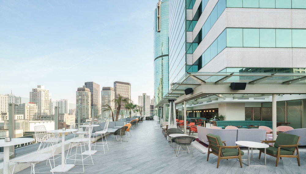 Highline at Ascott Hotel / Red Design