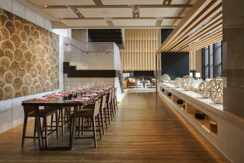 Brasserie at Four Seasons Kyoto / Kokaistudios