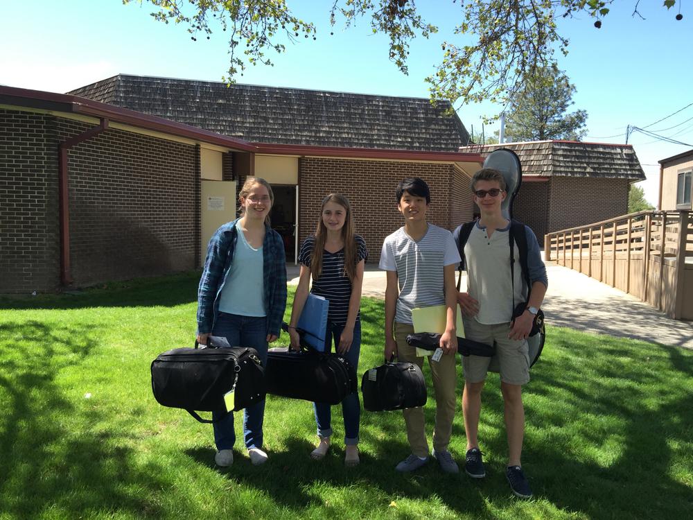 The Catalpa Quartet at Owyhee elementary