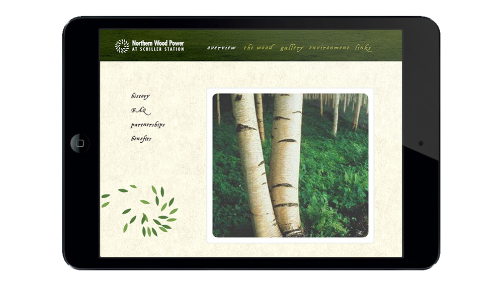 Northern Wood Power Microsite