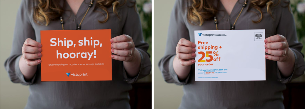 Sample Direct Mail - front and back | Written by John Grillo, Designed by Amy Kunberger