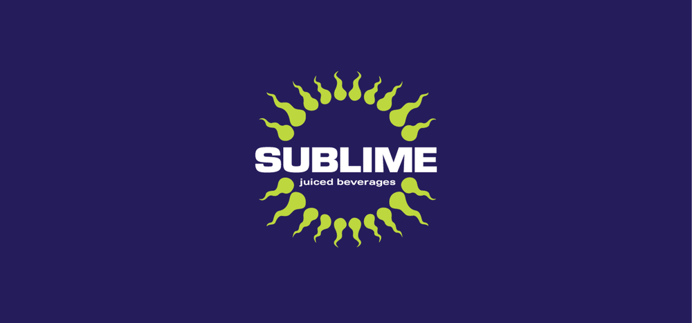 Sublime Juiced Beverages Logo | Designed with Kevin Cimo