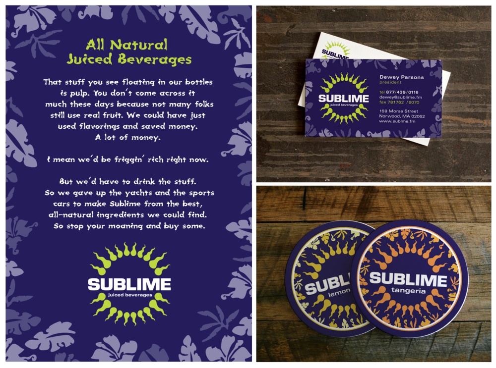 Sublime Collateral | Written by Alec Beckett, Designed with Kevin Cimo